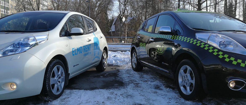 ELMO Rent ja Elektritakso moodustasid Eesti suurima elektriautode erapargi