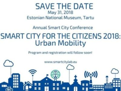 Smart City for the Citizens konverents 31.mail 2018