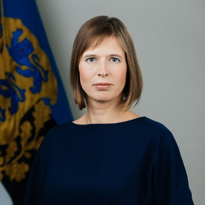 President of Estonia visiting City of Paldiski