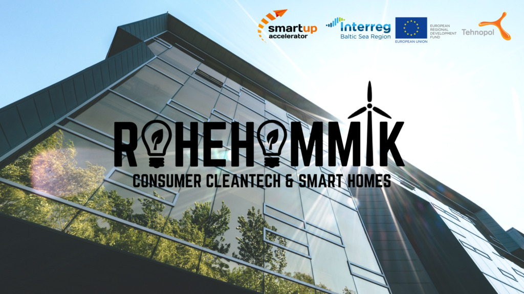 22.05 Rohehommik: Consumer Cleantech and Smart Homes