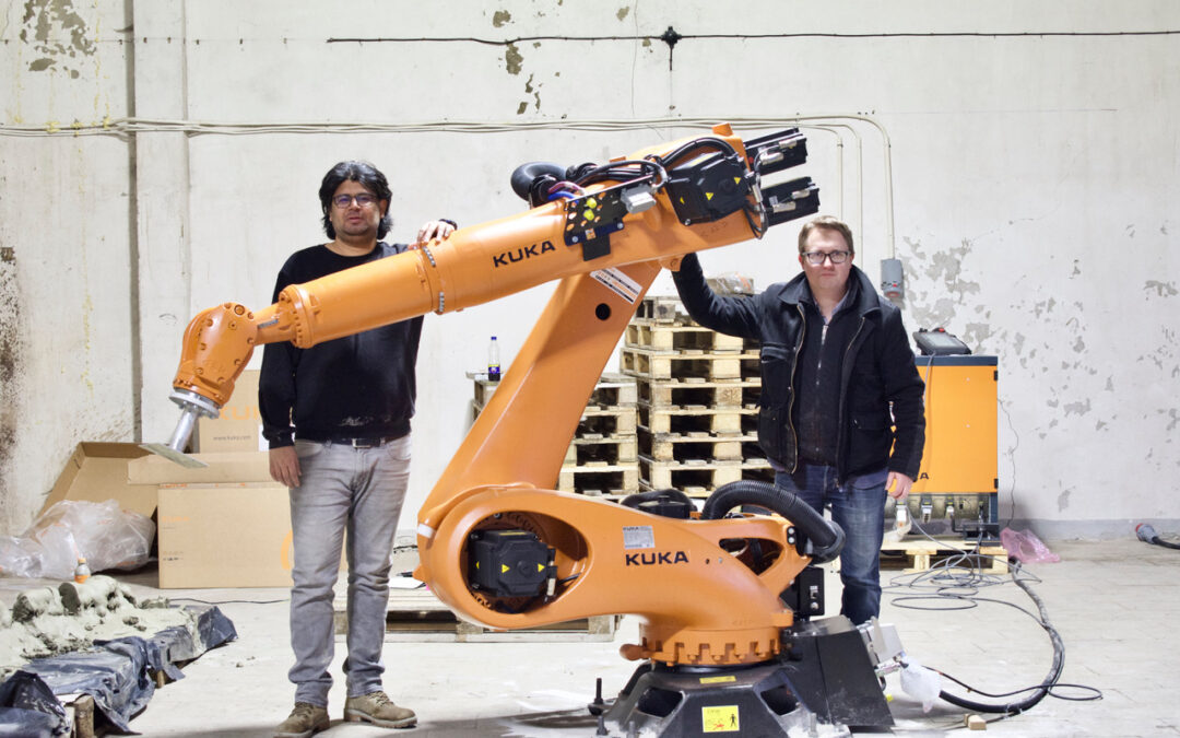 3D houses are being printed with the help of robots in PAKRI Science and Industry Park and the region's economy is recovering