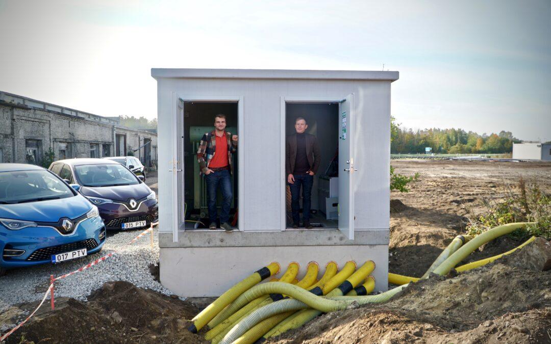 PAKRIs algas Eesti ühe esimese elektri suletud jaotusvõrgu ehitus